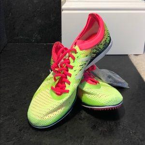 New Balance Neon Green Spikes